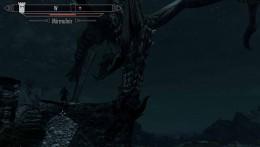 Skyrim Defeating the First Dragon Mirmulnir