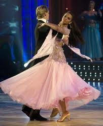 Mathew Culter and Alesha Dixon. Strictly Come Dancing 2009