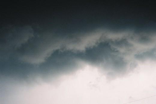Clouds in Alberta. ©2010.