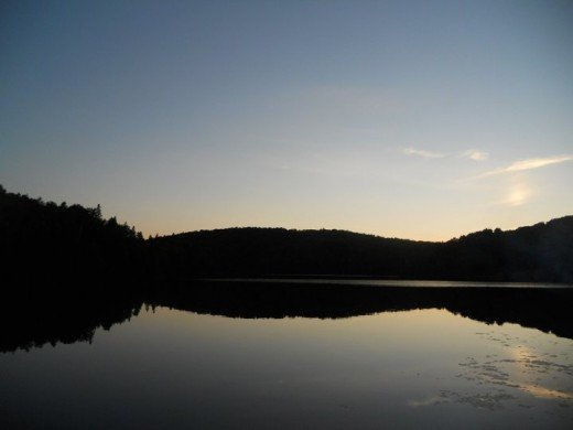 Cottage Sunset. ©2011 Sarah Haworth.
