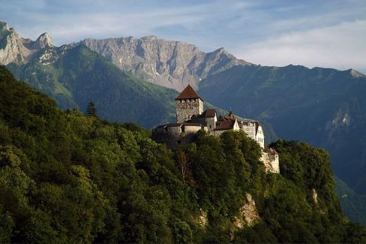 Schloss Vaduz, Liechtenstein.