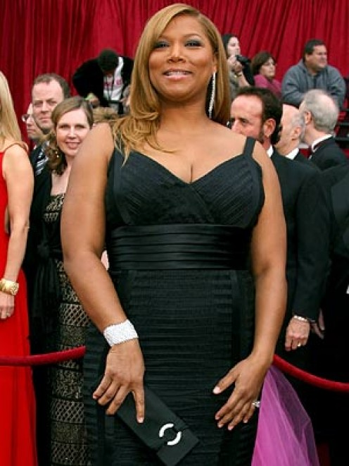 Queen Latifah is a good example of a round shape.  She is proud of her body and she looks gorgeous. - How to Find the Perfect Little Black Dress for You, by Rosie2010