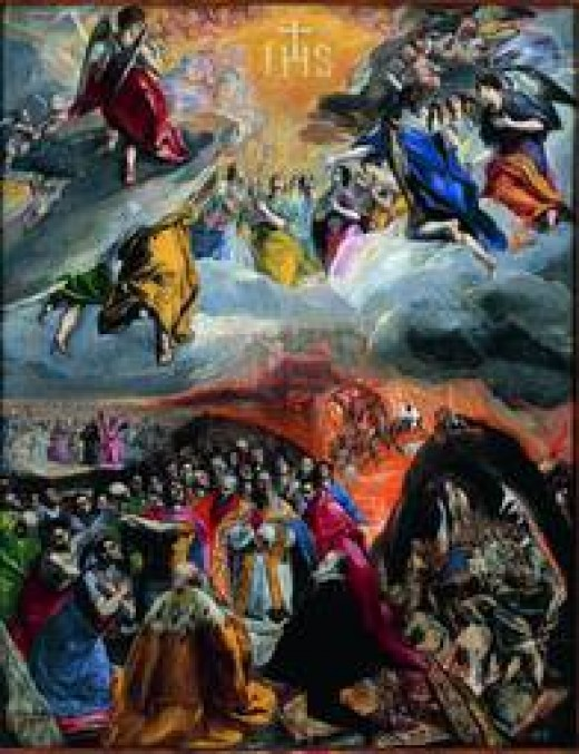 """The Allegory of The Holy League"" El Greco"