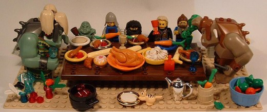 Thanksgiving with the Lego Trolls .... too fun not to share!