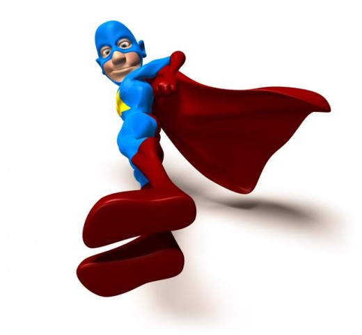 Superheroes inspire children to be healthy and fit