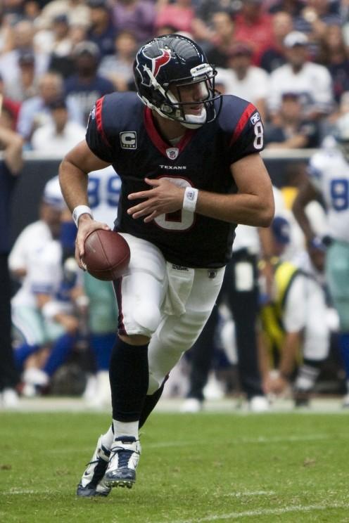 Houston Texans quarterback Matt Schaub.