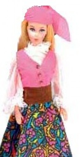 Barbie in Festival Fashion