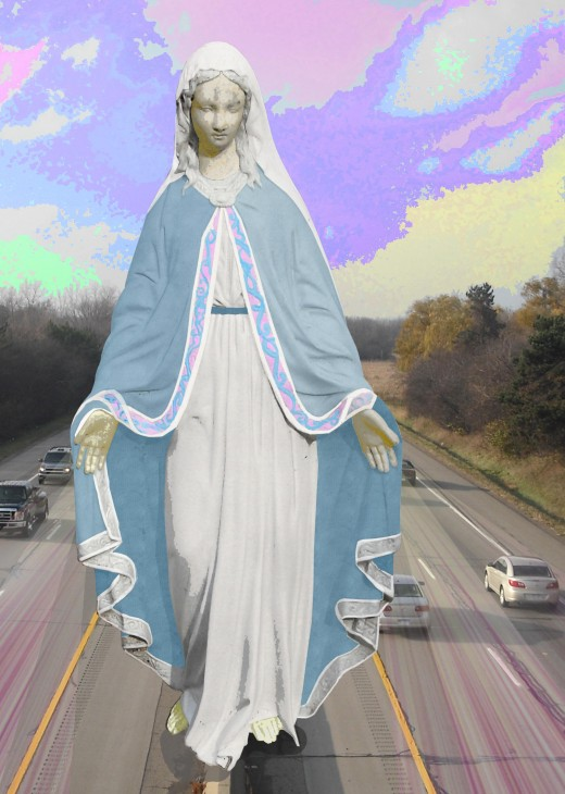Safe Driving with the Virgin Mary