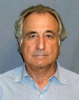 Bernard Madoff's mugshot
