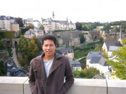 The summer before college--Luxemburg.