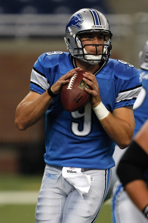 Stafford looks to rebound from a sub par performance last weekend against the Bears