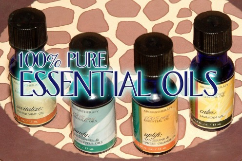 Only use 100% Pure Essential Oils!