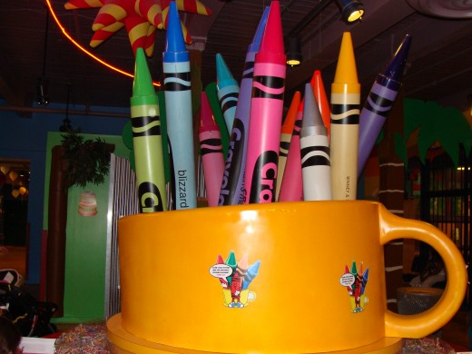 Crayola Factory in Easton, Pennsylvania