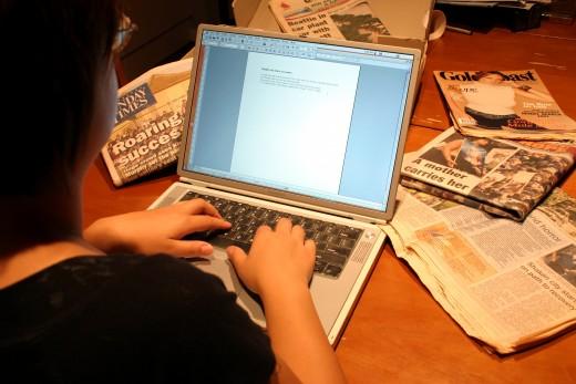 Keep Writing To Beat Writers Block!