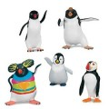 Happy Feet Two Movie Series 2 Collectible Figurine Gift Set Erik, Sven, Lovelace, Ramon and Carmen.