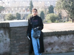 This is me in 2003 in front of the Colesseum.
