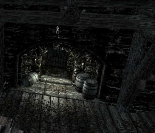 Skyrim Find Esbern - Esbern is somewhere in the Ratway (this is the entrance to the Ratway, use the compass for easy navigation)