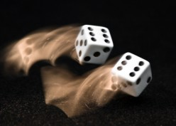 Along the Path of a Rolling Dice