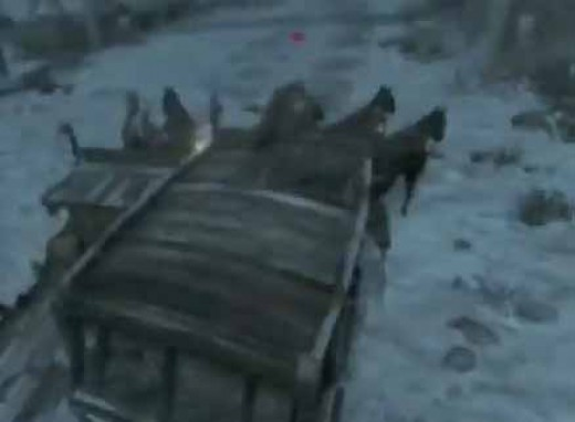 Assassin's  Creed Revelation Wounded Eagle Memory starts with surviving the carriage race