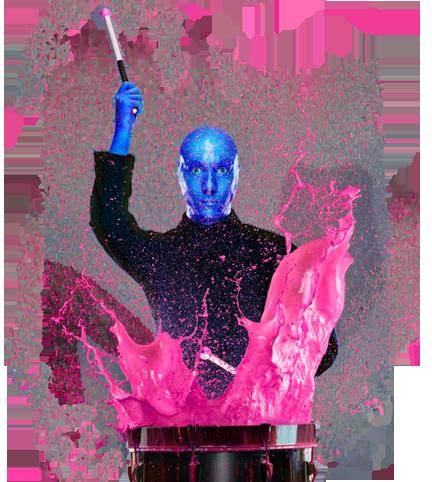 Blue Man Group Drumming