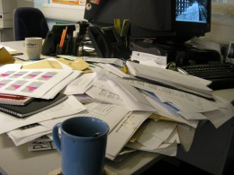 Image: Cluttered Office