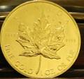 Canadian Gold Maple Leaf