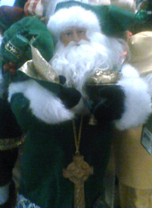 Irish Father Christmas