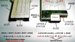 Parts of a Slide Rule