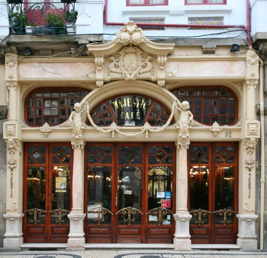 The Majestic Cafe in Porto
