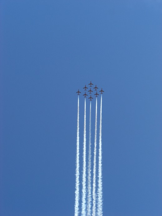 Even the Red Arrows only have 1 leader.