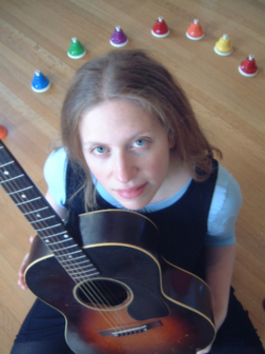 Elizabeth Mitchell makes gorgeous, calm kid's music.