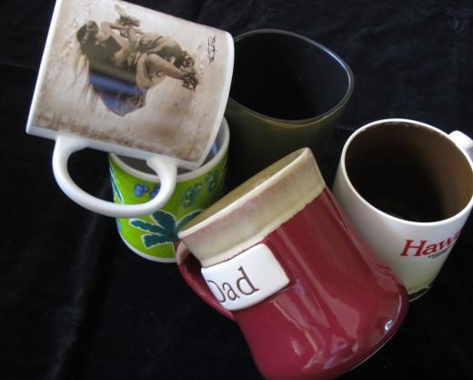 Mugs, mugs, mugs