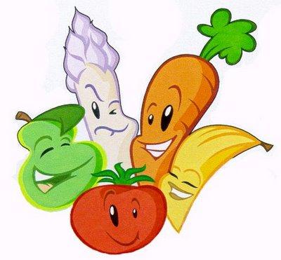 Cartoon Veggies