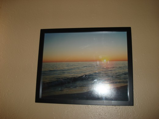 Photography Art with Simple Black Frame