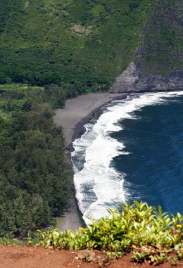 Waipio Valley is known for the numerous films that it's been in as well as the place where King Kamehameha grew up.