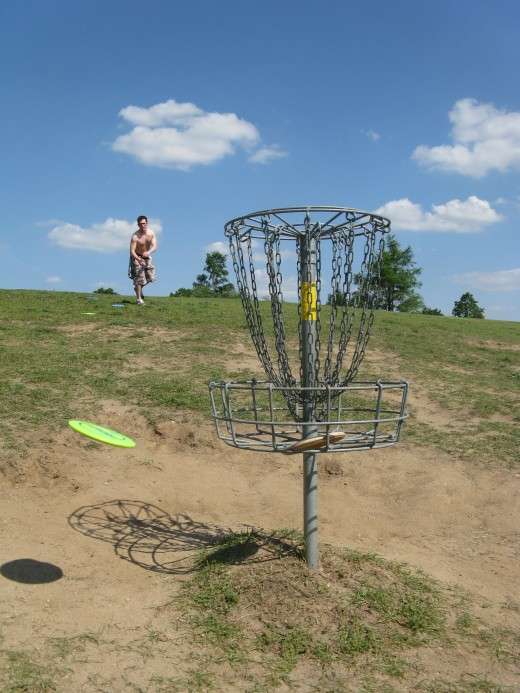 Disc Golf Putting - Not so much.