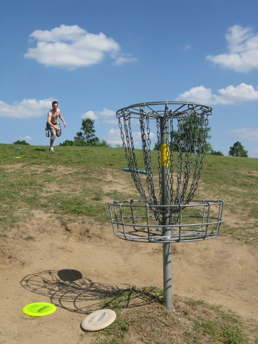 Disc Golf Putting