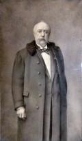 Portrait (around 1900) of Architect Louis Delacenserie (1838-1909)