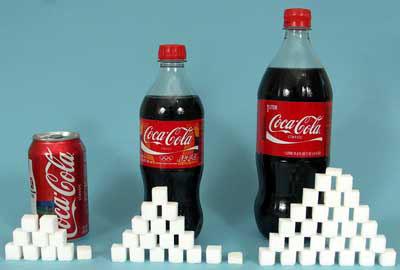 20 oz. Coke Classic = 65g sugar