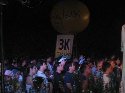 3K clusters - I counted more than 20 of them, participated in by different schools in Manila