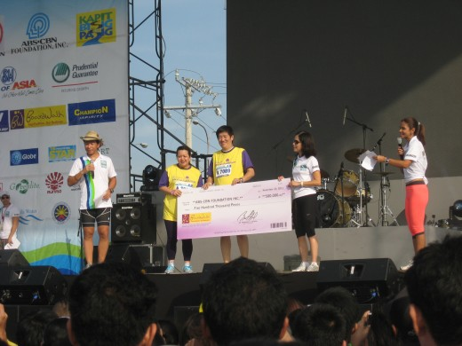 Donation for Pasig River