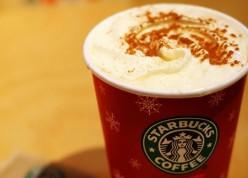 Eggnog Frappuccino Starbucks