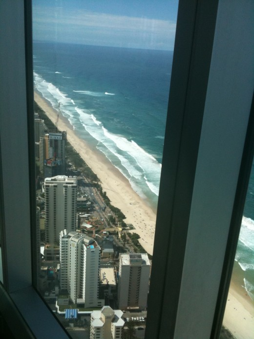 IMAGE 1  80th floor of QI Building Surfers Paradise