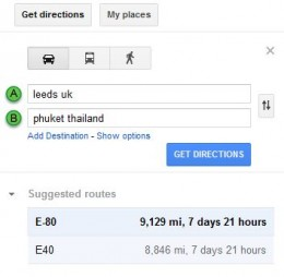 Directions To Drive !!!