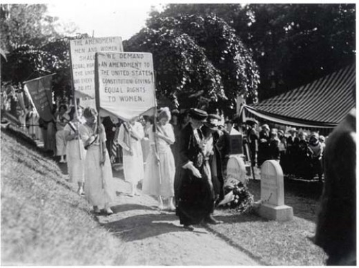 Suffragists sacrificed to ensure women the right to vote.