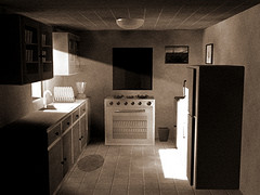 Moonlit Kitchen from Saber AhmedKhan Source: flickr.com