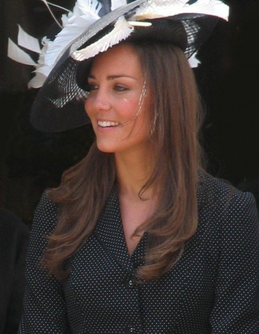 Kate Middleton at the Garter Procession, 2008