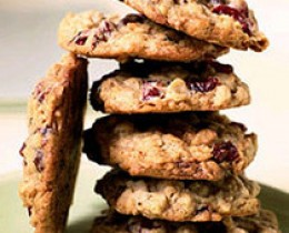 Dried Cranberry Cookies