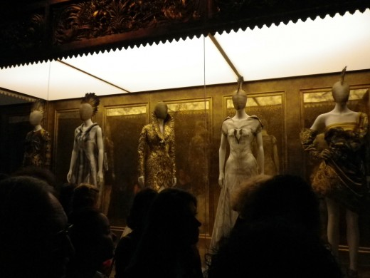 Photo of the Savage Beauty exhibition at The Met (NYC)