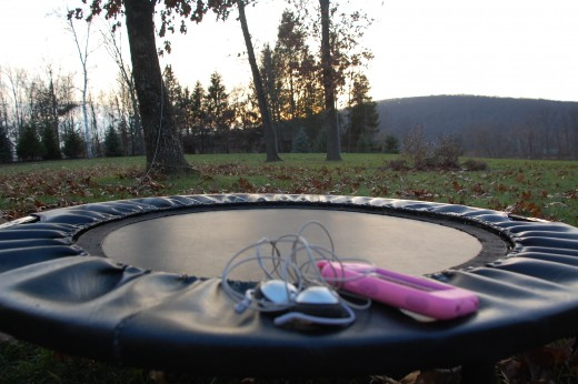 This rebounder and ipod have become my tools for fun and easy fitness in the shortest amount of time.